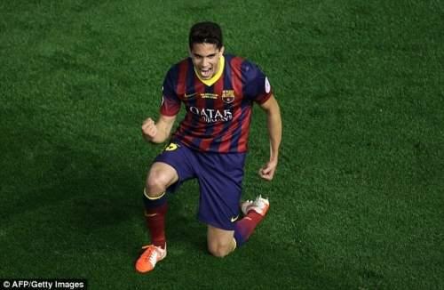 Как добраться: Бартра празднует потянув уровень Барселона с Реалом в 68-й минуте