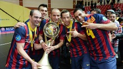 Футзал. «Барселона» - победитель Кубка УЕФА