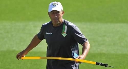 Calderón, en el entrenamiento de hoy | Foto: K. Hurtado