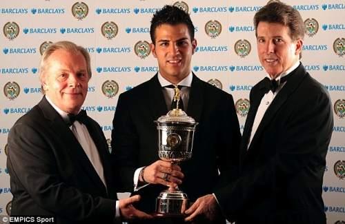 Талант: Испанец выиграл PFA Молодой игрок года в 2008 году