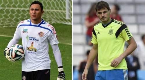 Keylor Navas, por delante de Casillas