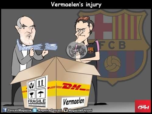 Барселона подписала Вермалена с травмой.