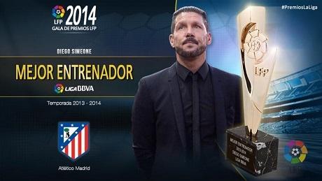 Итоги церемонии награждения лучших в чемпионате Испании 2013/2014