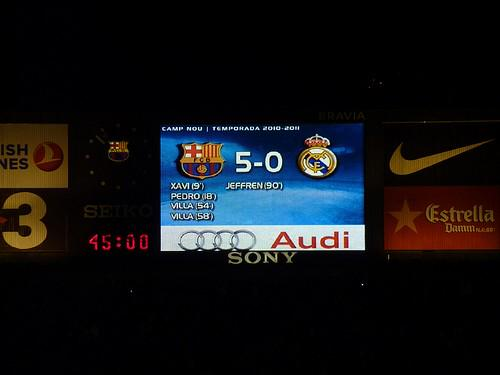 Великий матч в истории «Барсы»