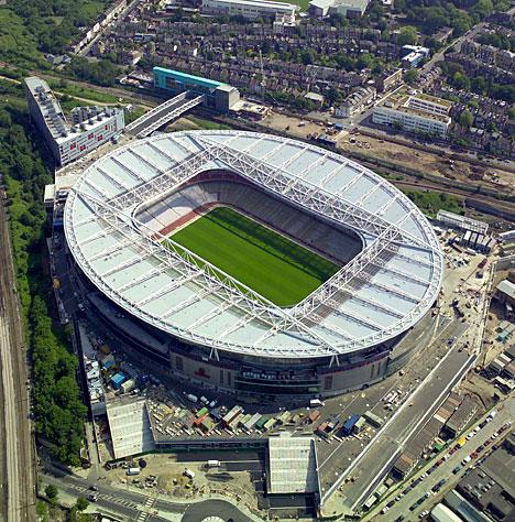 Арсенал - Стадионы