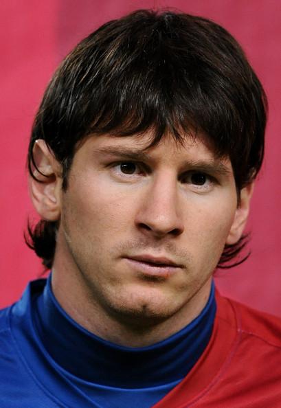 Lionel Messi - Barcelona v Lyon - UEFA Champions League