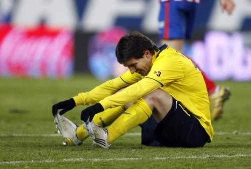 Lionel Messi - Atletico Madrid v Barcelona - La Liga