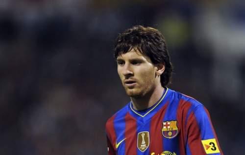 Lionel Messi - Real Zaragoza v Barcelona - La Liga