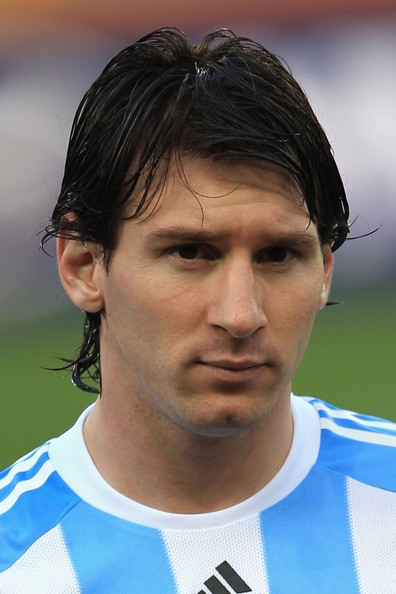 Lionel Messi - Argentina v Nigeria: Group B - 2010 FIFA World Cup