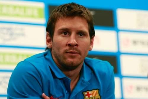 Lionel Messi - FC Barcelona Press Conference