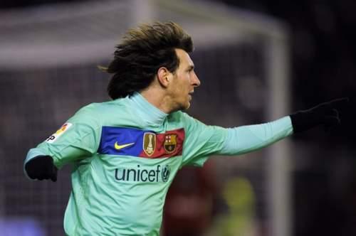 Lionel Messi - CA Osasuna v Barcelona - La Liga