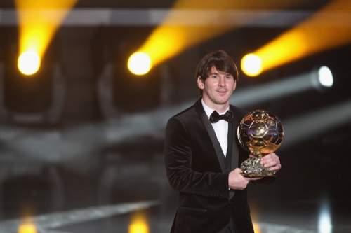 Lionel Messi - FIFA Ballon d'Or Gala 2010