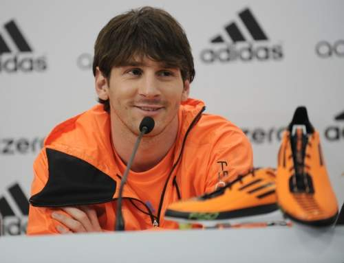 Lionel Messi - adidas Speed Week in Barcelona