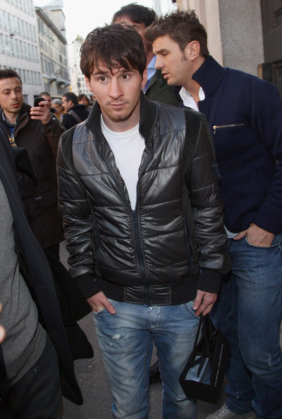Lionel Messi - Lionel Messi Sightings In Milan - March 20, 2011