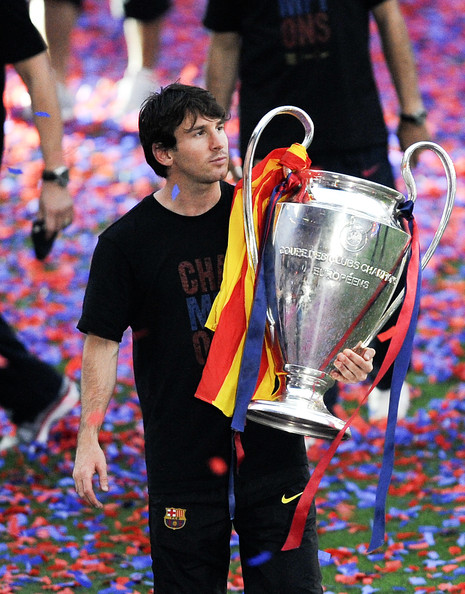 Lionel Messi - Barcelona Return Home Victorious With Champions League Trophy