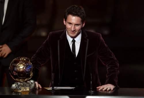 Lionel Messi - FIFA Ballon d'Or Gala 2011