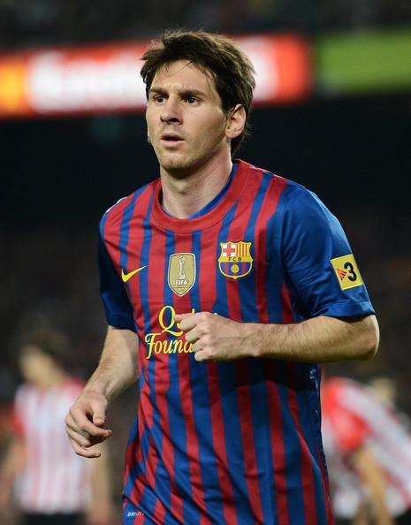 Lionel Messi - FC Barcelona v Athletic Club - Liga BBVA