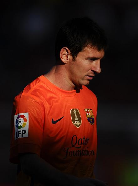 Lionel Messi - CA Osasuna v FC Barcelona - La Liga
