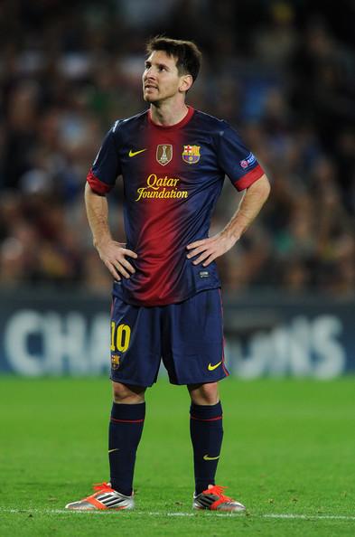 Lionel Messi - FC Barcelona v Celtic FC - UEFA Champions League