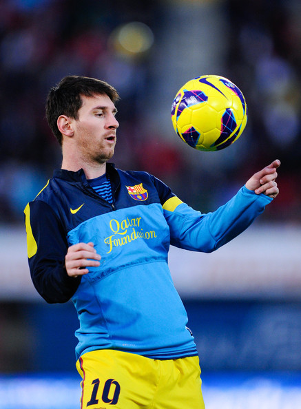 Lionel Messi - RCD Mallorca v FC Barcelona - La Liga