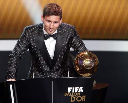 Lionel Messi - FIFA Ballon d'Or Gala 2012