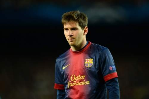 Lionel Messi - Barcelona v Paris St Germain