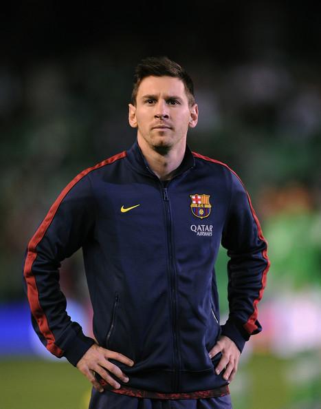 Lionel Messi - Real Betis Balompie v FC Barcelona - La Liga