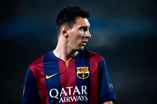 Lionel Messi - FC Barcelona v AFC Ajax